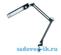 Настольная лампа на струбцине