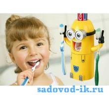 Держатель зубных щеток 2 в 1