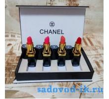 Набор Chanel помада 4в1