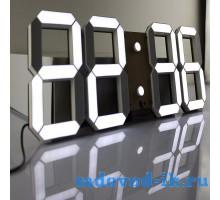 3D светодиодный цифровой будильник