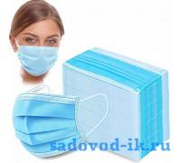 Маска медицинская (упаковка 50 штук)