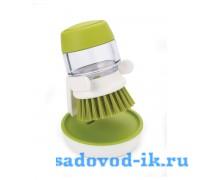 Щетка с дозатором моющего средства Palm Scrub