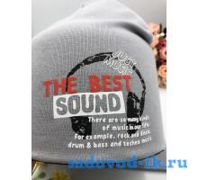 "Комплект шапка+снуд детский ""The Best Sound"""