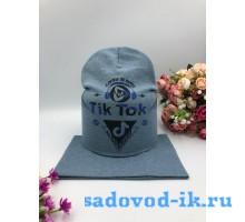 """Комплект шапка+снуд детский """"Tic Toc"""""""