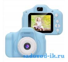 Детский фотоаппарат X2 цифровой (розовый и синий )