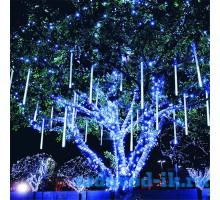 Гирлянда «Сосулька» 30см, цвет — синий