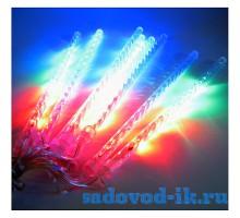 Гирлянда «Сосулька» 30см, цвет — мультисвечение