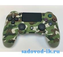 Джойстик Playstation Dualshock 4 (зеленый хаки)