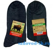 Мужские носки DMA Белорусский лён М11 темно-серые (10 пар)