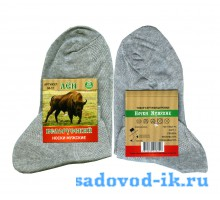 Мужские носки DMA Белорусский лён М11 светло-серые (10 пар)