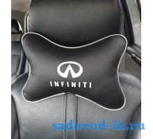 Подушка на подголовник Infiniti (черная)