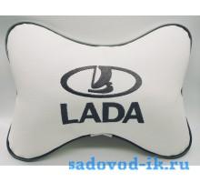 Подушка на подголовник Lada (белая)