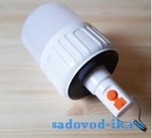 Кемпинговый фонарь с солнечной батареей (модель UQ-12W)